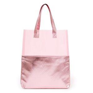 Ban.do Peakaboo Pink Shimmer Tote
